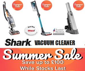 Shark Vacuum diseñado para hacerte la vida más fácil